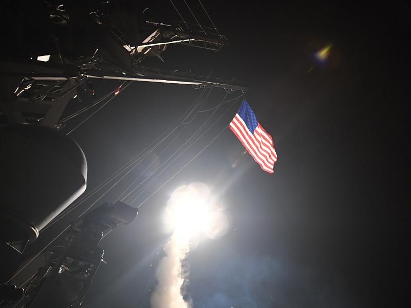"""На момент ракетного удара США по аэродрому """"Шайрат"""" в Сирии 7 апреля в Средиземном море не было российских военных кораблей, способные организовать слежение за осуществившими атаку американскими эсминцами"""