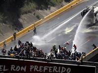 Оппозиция Венесуэлы сообщила о 247 пострадавших за день в ходе протестов