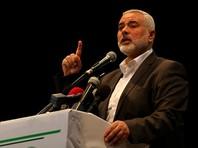 """Заместитель главы политбюро """"Хамаса"""" Исмаил Ханийя заявил, что в ближайшие дни будут объявлены результаты выборов на пост главы группировки"""
