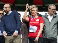 Бельгийская принцесса оглушила премьера страны выстрелом из стартового пистолета на марафоне