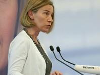 Могерини надеется на новые переговоры об урегулировании между Израилем и Палестиной