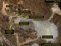 На территории ядерного полигона в КНДР замечено возобновление активности
