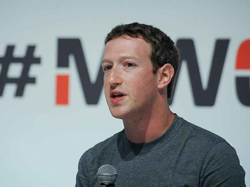 Марк Цукерберг, основатель Facebook