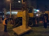 В Одессе демонтировали закладной камень на месте планируемого памятника маршалу Жукову