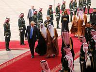 Трамп прибыл в Саудовскую Аравию в начале первого визита за рубеж