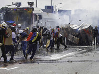 Президент Венесуэлы Николас Мадуро обвинил оппозицию, организующую антиправительственные манифестации, в убийствах мирного населения при помощи снайперов