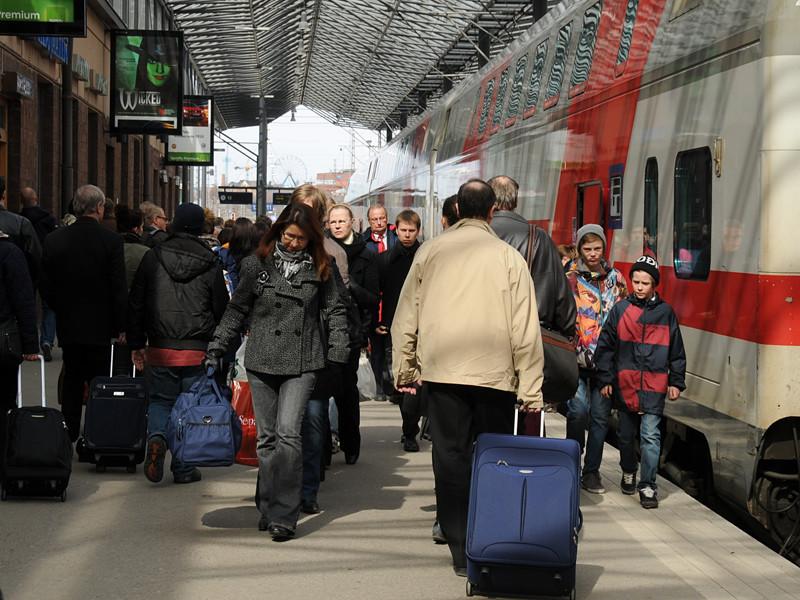 В Финляндии птицы внесли свои коррективы в движение железнодорожного транспорта