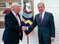 Лавров провел в Вашингтоне переговоры с Трампом и Тиллерсоном
