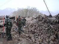 В Китае в результате землетрясения погибли восемь человек