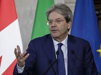Премьер Италии поддержал Меркель в намерении разойтись с США по ряду ключевых вопросов