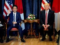 Японский премьер на встрече с Трампом отметил роль России в решении проблем Сирии и Северной Кореи