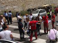 В Турции разбился автобус с туристами: 23 человека погибли