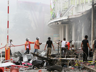 На юге Таиланда прогремели два взрыва - пострадало более 50 человек