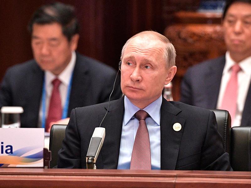 """Россия поддерживает проект Китая """"Один пояс - один путь"""", заявил Путин"""