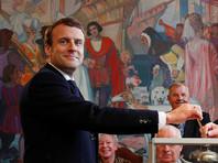 После голосования Эмманюэль Макрон должен отбыть из Ле-Туке в Париж в свой предвыборный штаб