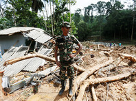 На Шри-Ланке растет число жертв наводнений - уже 164 погибших
