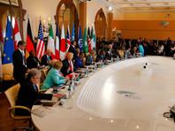 Второй день саммита G7 начался со встречи в расширенном составе с участием лидеров Африки