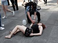 Один из очевидцев рассказал агентству, что по меньшей мере один человек погиб, ранены как минимум 10 человек