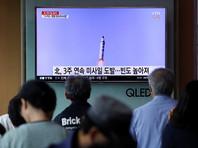В КНДР посчитали успешным последний запуск баллистической ракеты