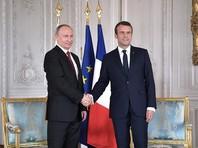 Путин во Франции провел с Макроном переговоры о Сирии, Украине, КНДР и терроризме