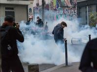 Полиция задержала более 140 участников несанкционированной манифестации в Париже