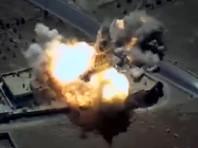 Удар крылатыми ракетами «Калибр» по объектам ИГИЛ в Сирии кораблями ВМФ РФ в Средиземном море, 23 июня 2017 года