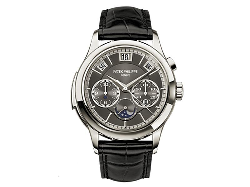 Швейцарские часы Patek Philippe Grand Complications 5208P, которые, как утверждается, принадлежали президенту России Владимиру Путину, выставлены на аукцион Antiquorum
