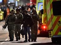 К мосту подъехали вооруженные полицейские, всех троих нападавших убили