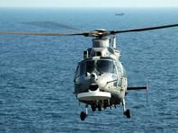 Во время учений у берегов Болгарии в Черное море упал вертолет