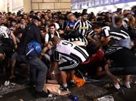 В давке в Турине пострадали более тысячи зрителей футбольного финала