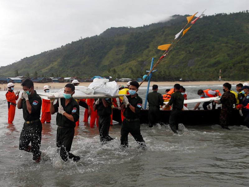 Из Андаманского моря у побережья Мьянмы извлечены 29 из 122 тел погибших в авиакатастрофе Y-8-200F