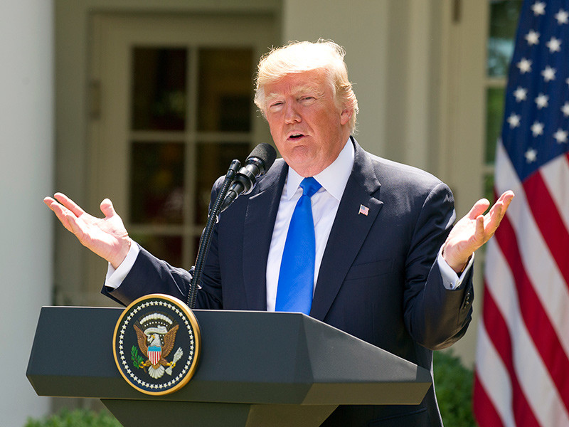 В США начато расследование против президента Дональда Трампа