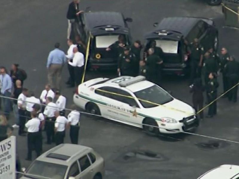 В американском городе Орландо (штат Флорида) в одном из офисных зданий произошла стрельба