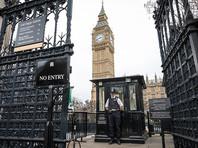 У здания парламента в Британии задержали мужчину за ношение ножа