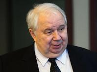 BuzzFeed: вместо назначения в ООН посол РФ в США Кисляк после отставки отправится домой