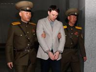 """Северная Корея объяснила освобождение из тюрьмы впавшего в кому американца """"гуманитарными соображениями"""""""