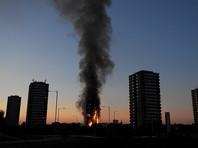 В момент возгорания в здании находилось до 600 человек