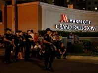 В крупнейшем отеле Манилы произошла стрельба