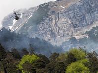 Три человека сорвались в ущелье со спасательного вертолета в Австрии