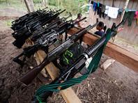 Колумбийские повстанцы из FARC сдали почти все свое оружие миссии ООН