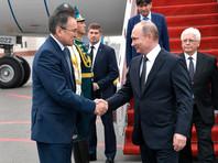 Путин прибыл в Астану для участия в саммите лидеров ШОС