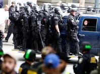 В американском Портленде задержано 14 участников беспорядков, произошедших во время митингов сторонников и противников Трампа