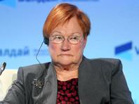 Бывший президент Финляндии снялась в образе бездомной в рамках кампании по борьбе с бедностью