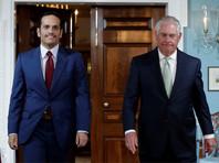 Тиллерсон на встрече с главой МИД Катара призвал продолжать переговоры