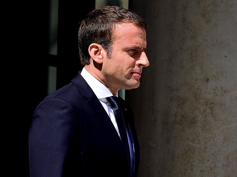 """Президент Франции Эммануэль Макрон назвал общеизвестным фактом, что Россия выступает агрессором на Украине и заявил, что """"Франция не признает аннексии Крыма Россией"""""""