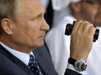 """Автор статьи называет Путина """"часовым знатоком"""" и утверждает, что в его коллекции есть """"все от Blancpain Aqualung, которые были на нем во время подписания договора об аннексии Крыма до ряда других часов, стоимость которых шестикратно превышает его годовой задекларированный доход"""""""