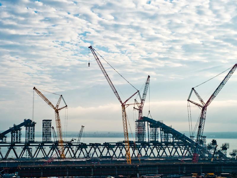 На Украине заявили об угрозе национальной безопасности из-за строительства Керченского моста