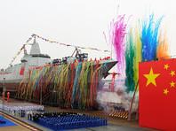 Китай усилил флот новым эсминцем собственного производства