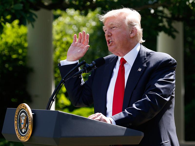 Дональд Трамп, как и ожидалось, объявил о выходе США из Парижского соглашения по климату