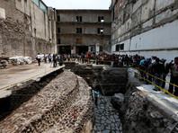 Археологи представили публике гигантский храм ацтеков, обнаруженный в центре Мехико при раскопках